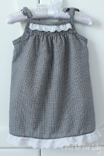 Gingham  sundress by crafts 4 Lily