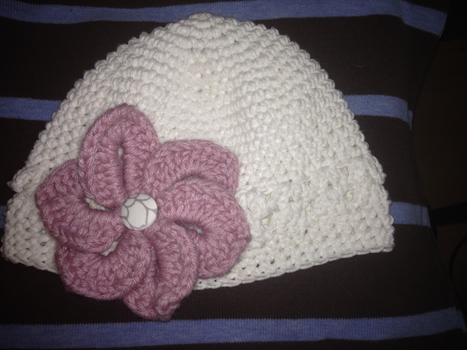 Sophias crochet free kufi cap crochet pattern my finished results below with bernat super value worsted medium weight note the lovely flower is not my pattern it comes from bonita patterns bankloansurffo Choice Image