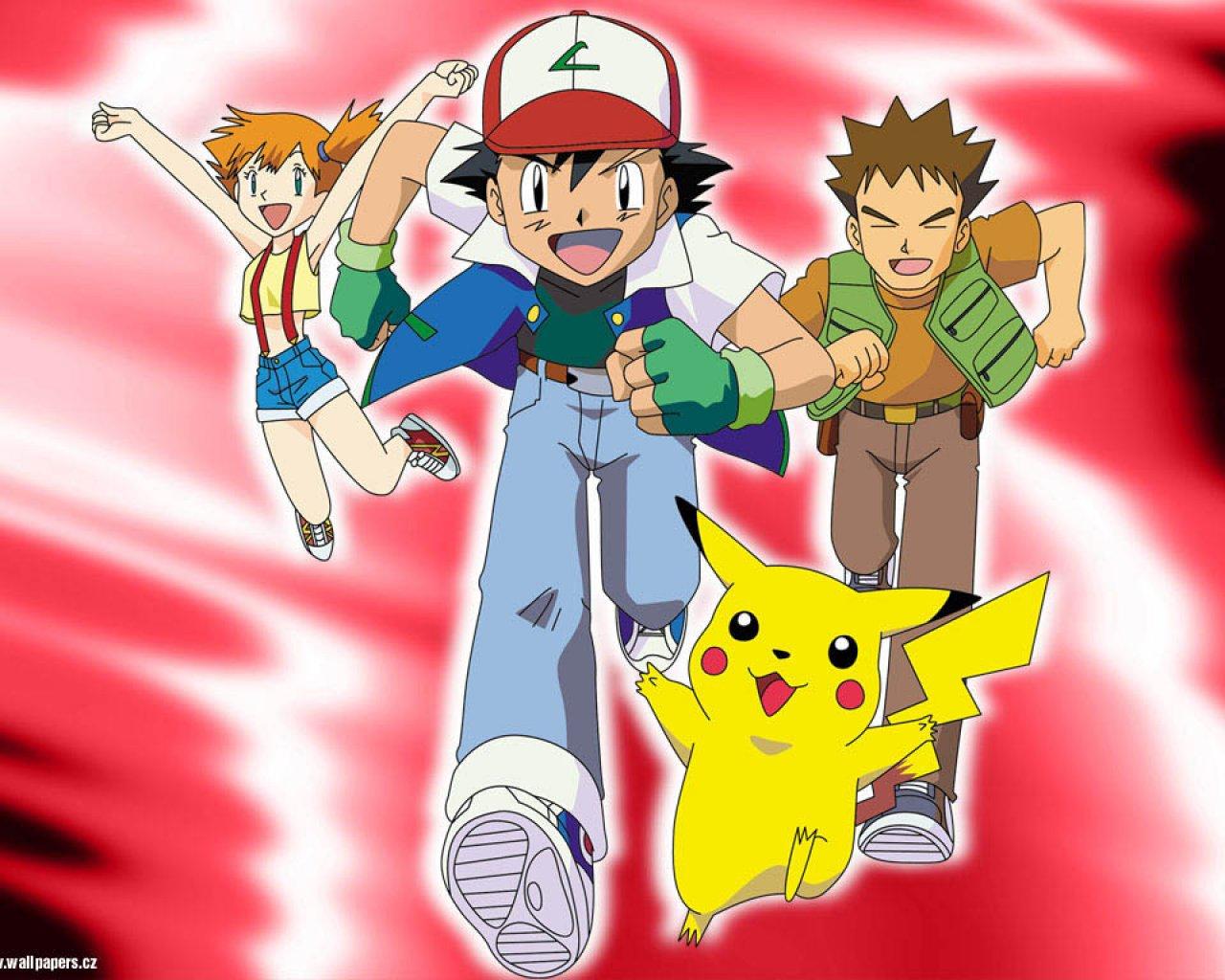 MangIme: POKEMON Original Pokemon Ash