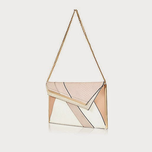 Asymmetric Flap Clutch River Island
