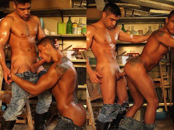 Sexo gay fotos Diego e Wagner