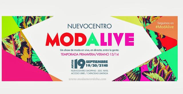 Moda en Cordoba Argentina.Nuevocentro Shopping y una nueva propuesta en moda