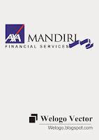 Axa Mandiri (financial services) Logo