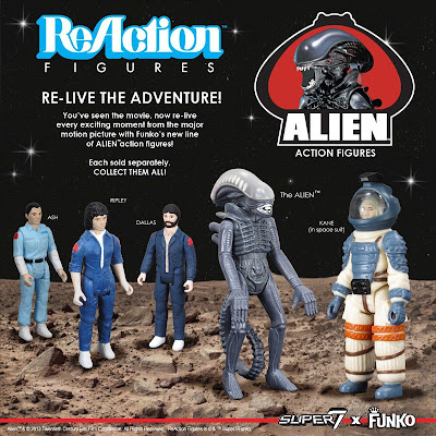 Super 7 - Funko - Alien Action Figure Set