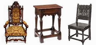 Typical Jacobean furniture