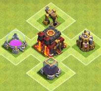 cara meningkatkn level clash of clan