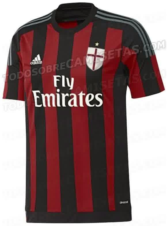 Jersey Ac Milan Musim 2015-2016