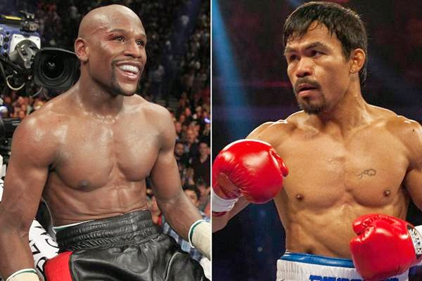 Mayweather vs Pacquiao on May 2 in Las Vegas