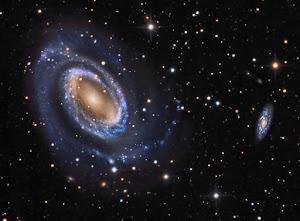 NGC 4725 & NGC 4712