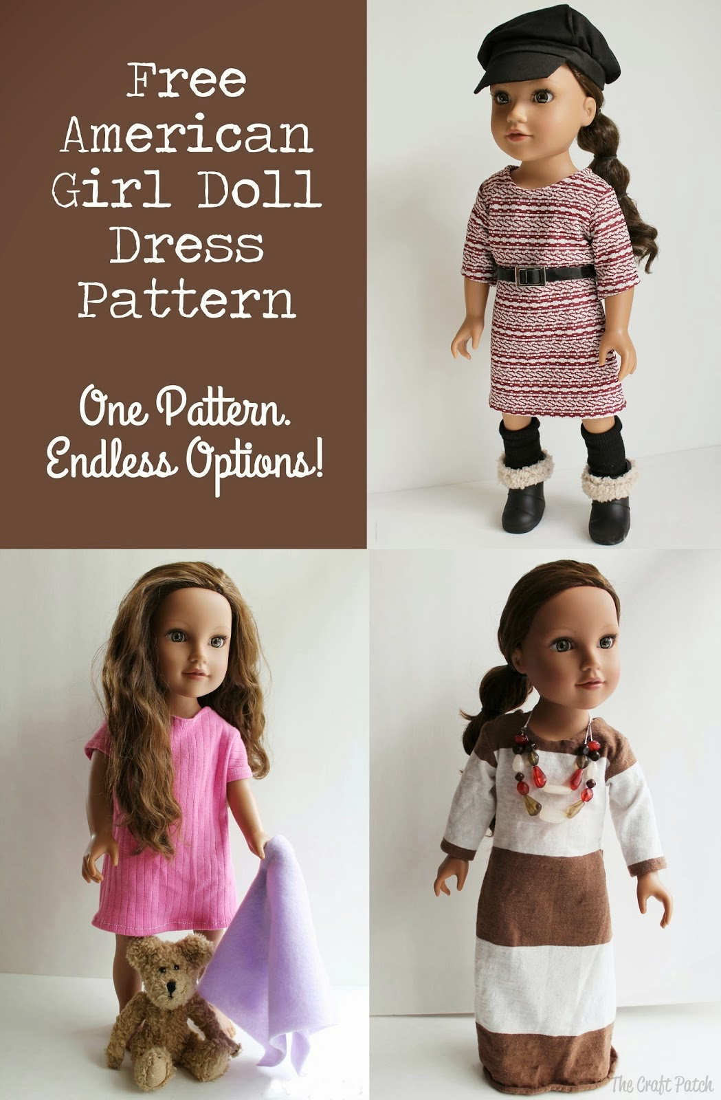 Divine image with 18 inch doll patterns free printable