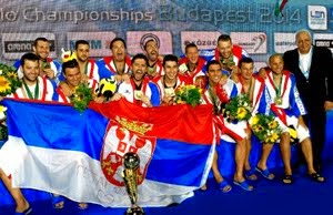 Serbia - European Champion Men, Budapest 2014
