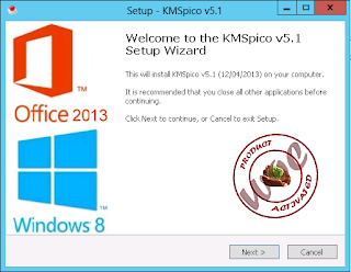 KMSpico v5.1 Activator for Office 2013 and Window 8 Full Working Free Download
