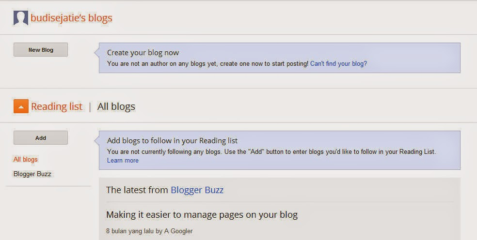 memulai membuat blog