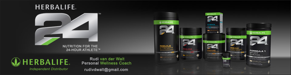 Herbalife 24 Sports Nutrition Products for the 24 hour Athlete