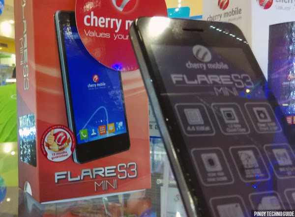 Mobile flare s3 mini is now available the cherry mobile flare s3