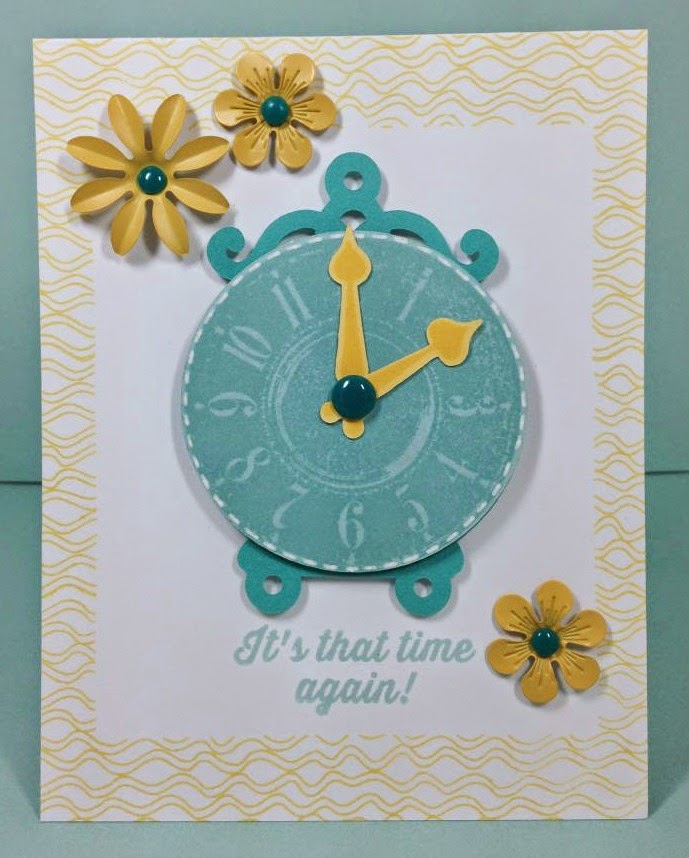Cricut Artiste It's that time again! card