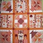 Oranje quilt