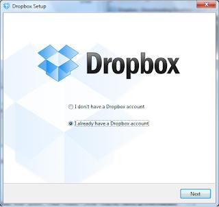 Dropbox - iscrizione al sito