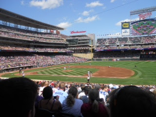 Minnesota Twins baseball field