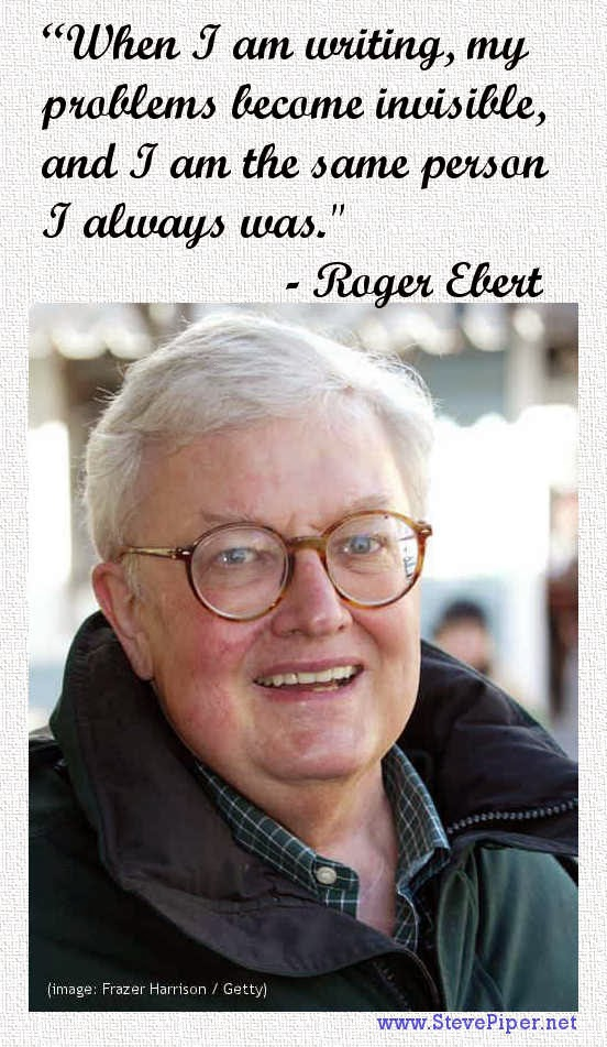 Roger Ebert, writing, problems