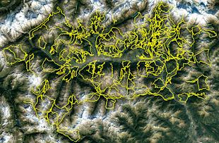 Mappa Itinerari