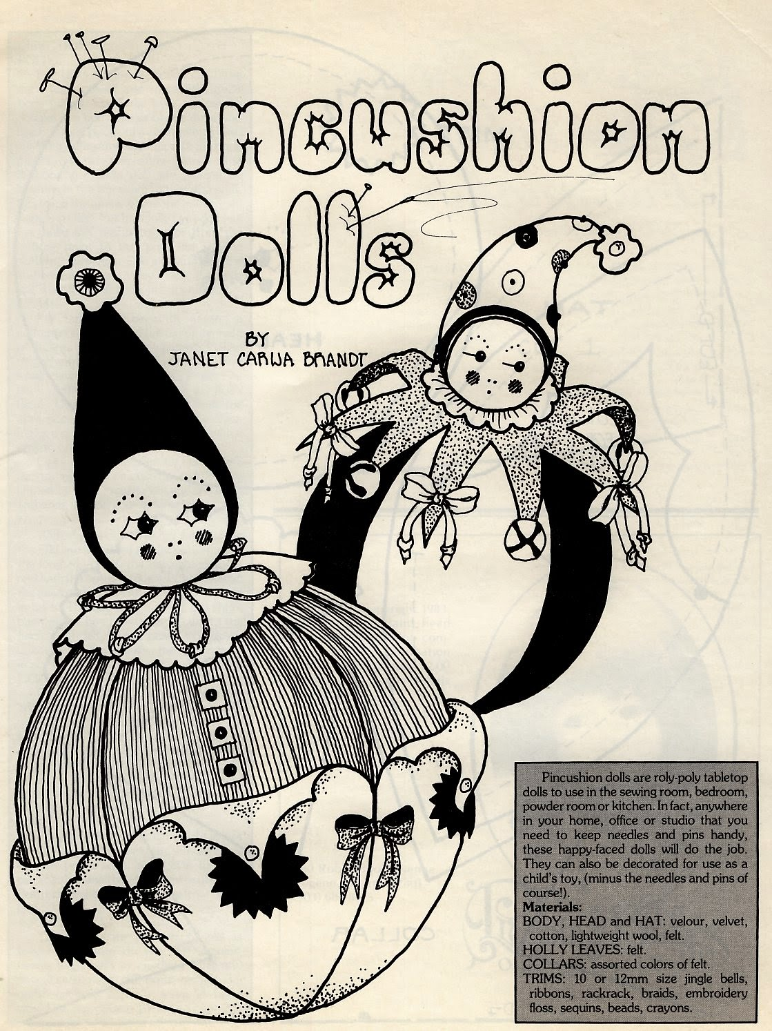 vintage cloth doll patterns