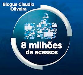 CHEGAMOS AOS 8 MILHÕES DE ACESSOS!