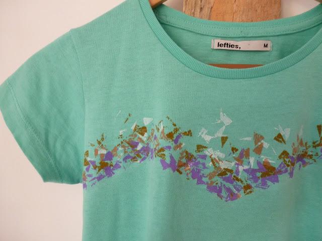 Hoy os traemos una idea para renovar nuestras camisetas b sicas que nos ha encantado por lo - Decorar camisetas basicas ...