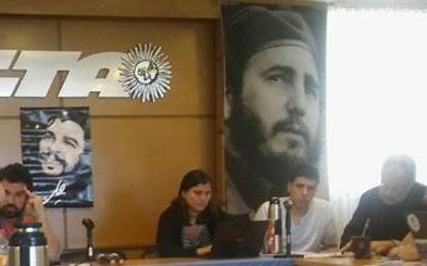 REUNIÓN ALBA MOVIMIENTOS SOCIALES EN CTA AUTÓNOMA