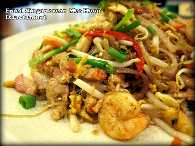 Fried Singaporean Mee Hoon