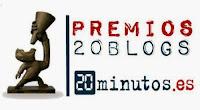 PREMIOS 20 BLOGS 2.016