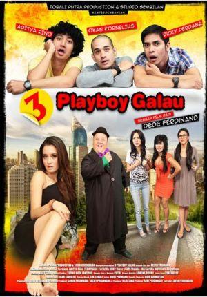 3 Playboy Galau di Bioskop
