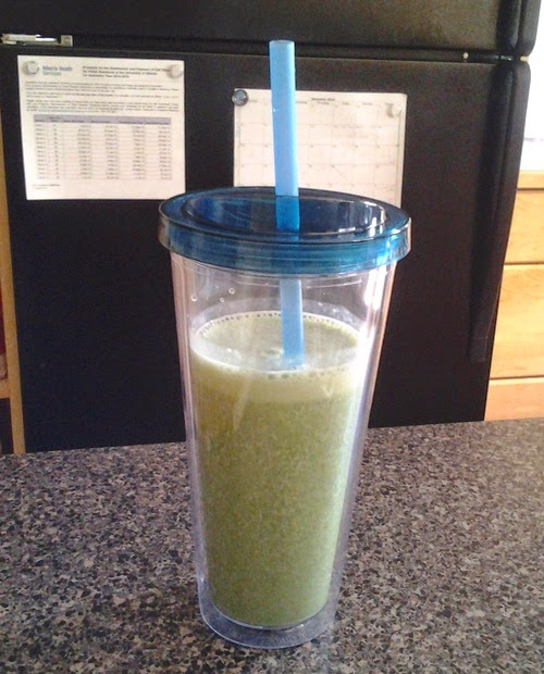 kale banana green smoothie