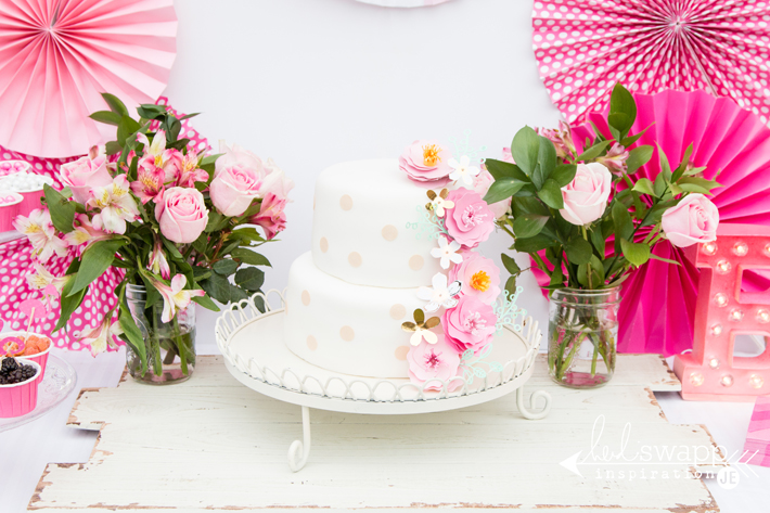 Heidi Swapp Birthday Cake Flowers Create Often