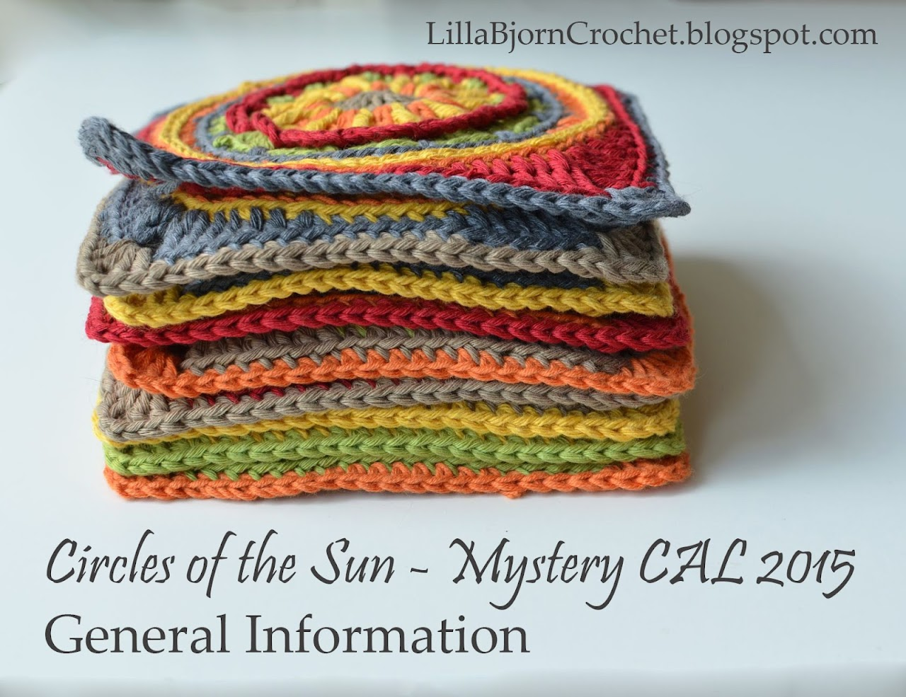 Crocheting Facts : ... Sun Mystery CAL - General Information LillaBj?rns Crochet World