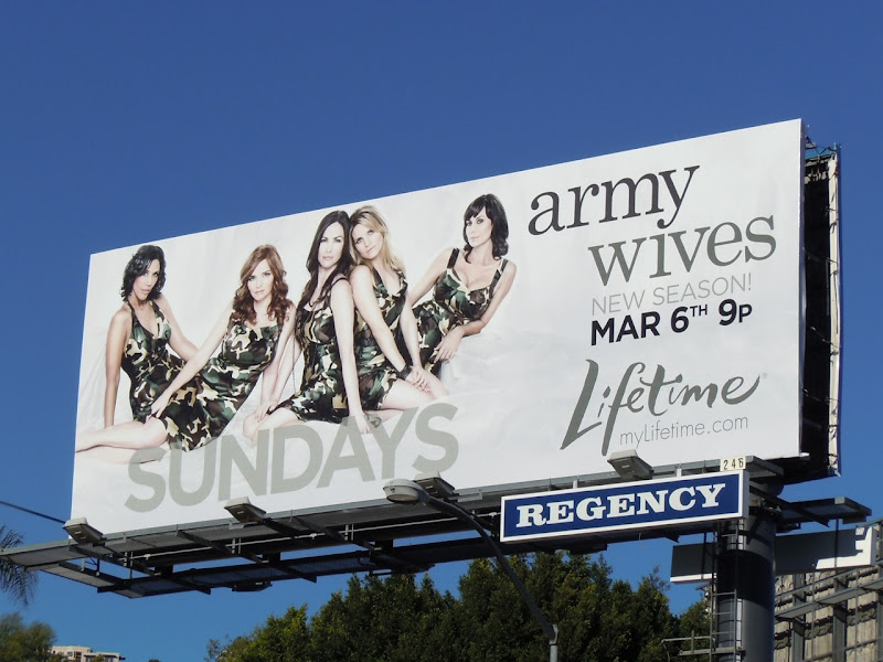 Army Wives season 5 TV billboard
