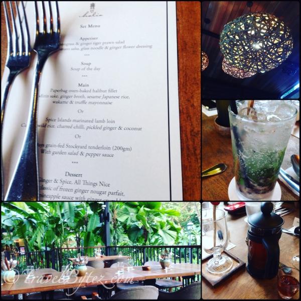 Christmas Dinner at The Halia (Singapore Botanic Gardens)