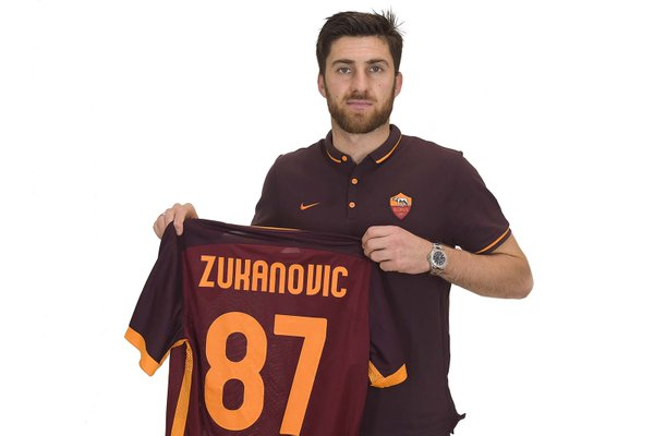 Ervin Zukanovic | AS Roma [image by @OfficialASRoma]