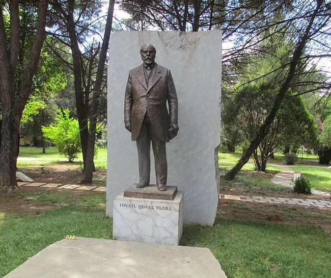 Ismail Qemal Vlora Monument in Tirana