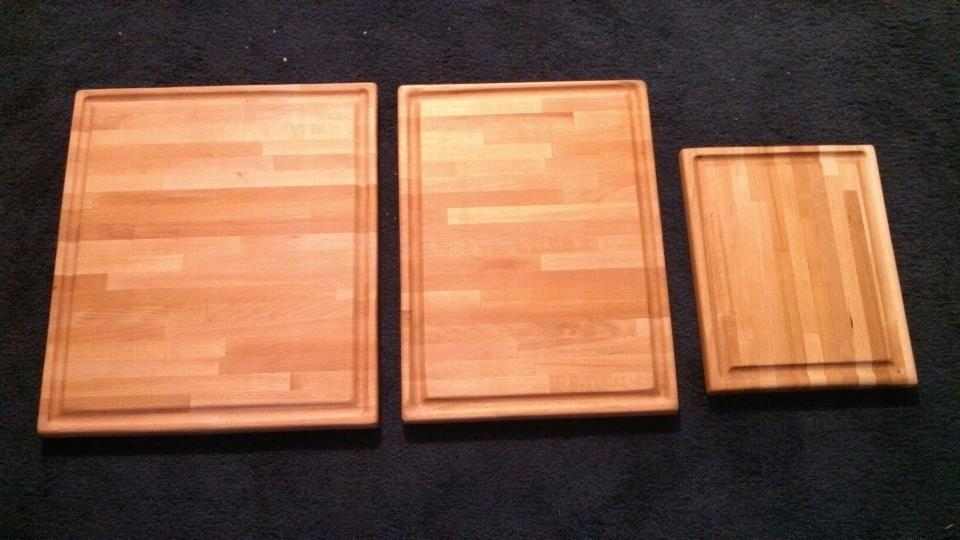Two Thumbs Up In The Kitchen Butcher Block Cutting Boards