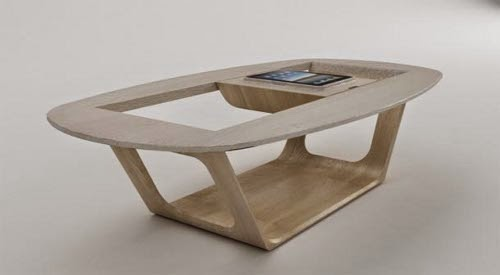 contemporary modular and hight tech coffee table by roberto delponte