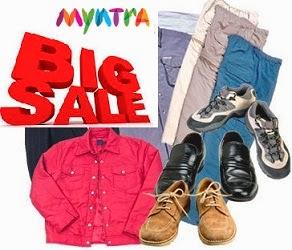 Flat 60% Off on Men's & Women's Fashion Wears@ Myntra