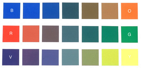 a mathematician paints color wheel revisited. Black Bedroom Furniture Sets. Home Design Ideas
