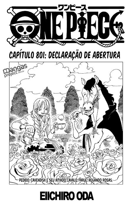 One Piece Mangá 801