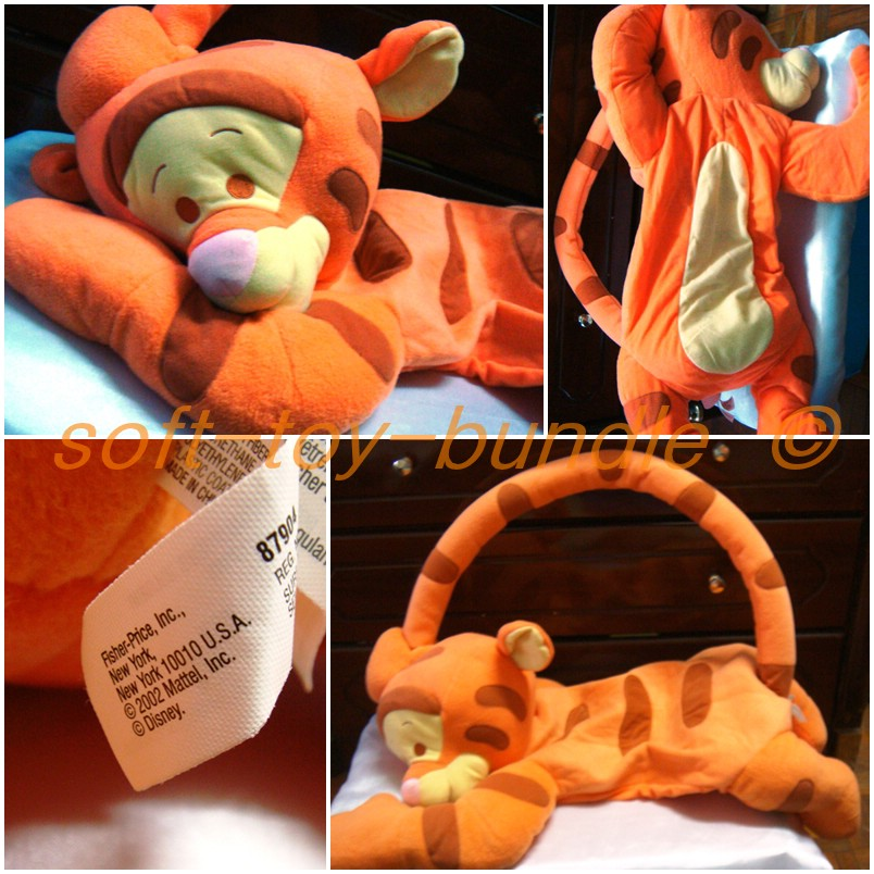 item p710# FISHER PRICE 1,2,3 BABY TIGGER & ME (XXL) SOLD