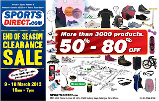 SportsDirect.com End of Season Clearance Sale