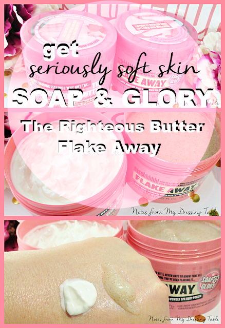 get seriously soft skin with soap and glory pin notesfrommydressingtable.com