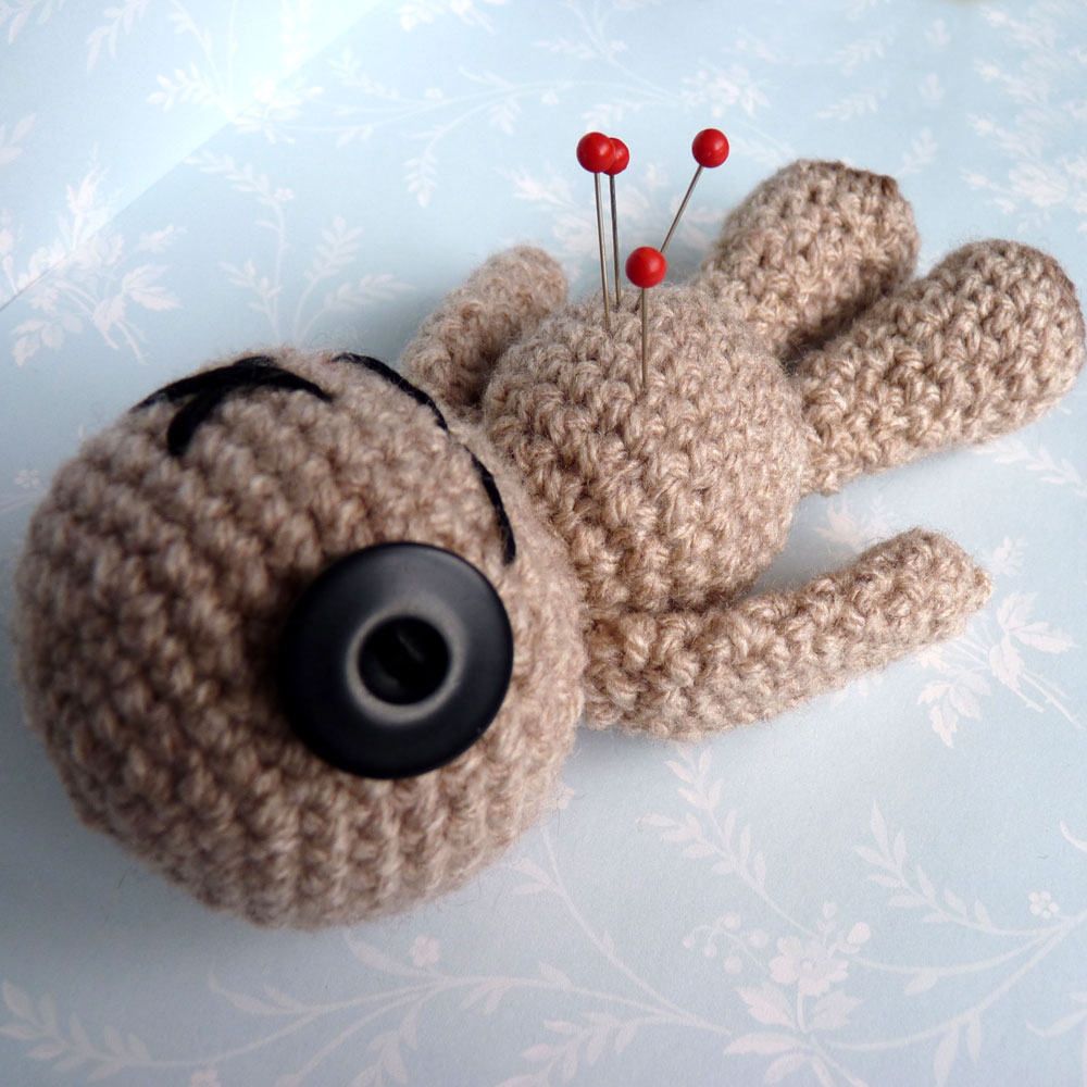 Crochet Amigurumi Voodoo Doll : Cute Designs UK - Amigurumi, Kawaii and Plush Love ...