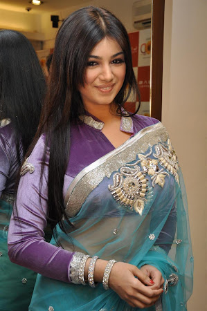 Beautiful Ayesha Takia in traditional ethnic saree Promote film MOD
