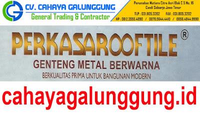 Genteng Metal Perkasa Roof Tile